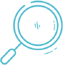 Exposed employee emails icon in turquoise.