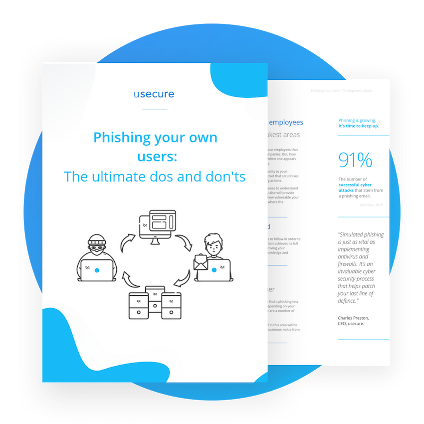 The dos and don'ts when phishing your users.