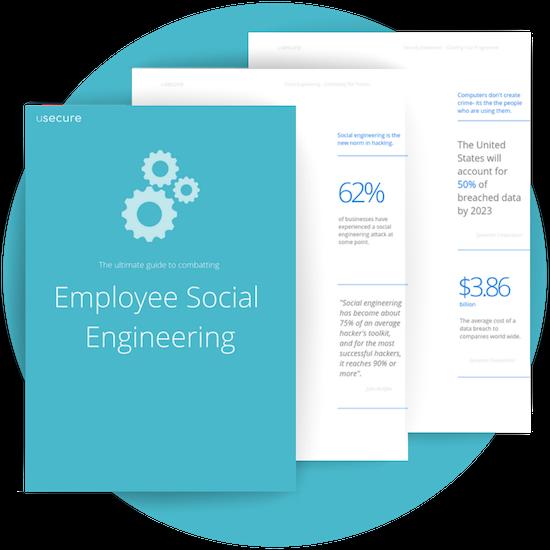 Social engineering circle mockup