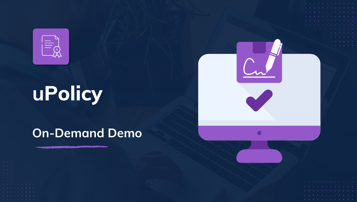 uPolicy Demo On-Demand